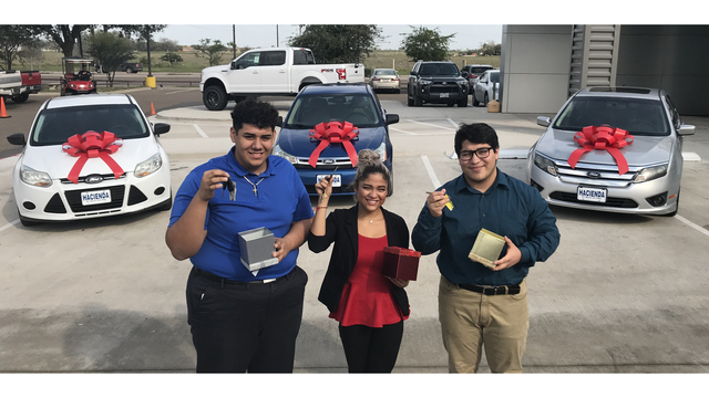 High School Students Awarded Cars From Local Dealership