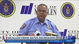 McAllen Seeing Decrease in Crime for First Time in Over 30 Years