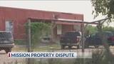 Land dispute blocks family within their property